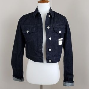 [ new ] GAP Cropped Jean Jacket